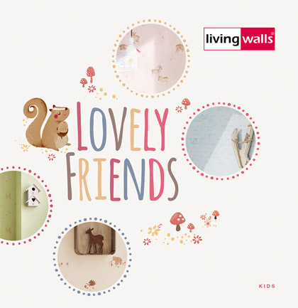 "Каталог обоев ""Lovely Friends"""