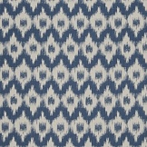 "Обои ""Flamme De France Indigo Fabric French General"""