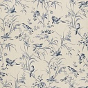 "Обои ""Aviary Toile Indigo French General"""